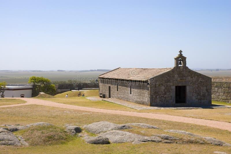 chuy forte- santa teresa uruguay royaltyfria bilder