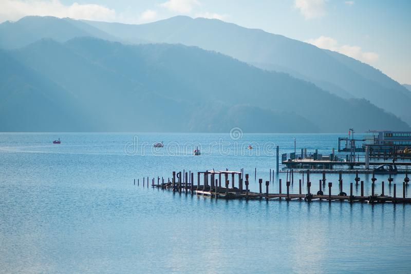 Chuzenji jezioro przy Nikko, Japonia obraz royalty free