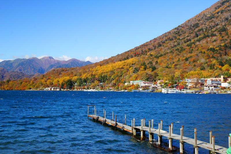 Chuzenji Lake. This is Chuzenji Lake. It is location in japan royalty free stock image