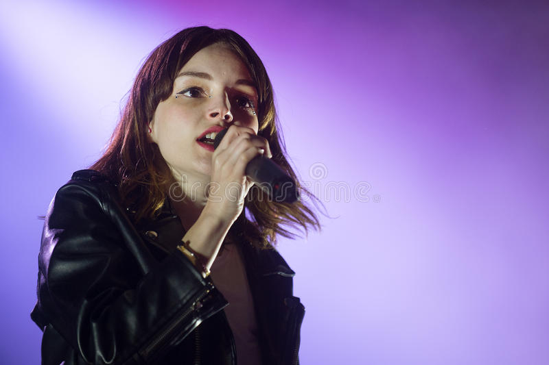 Chvrches immagine stock