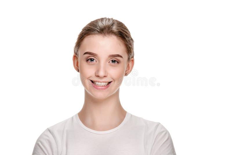 Chwalebna młoda dziewczyna fotografia stock