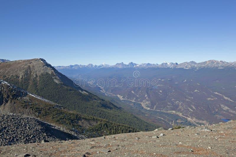 Chwalebnie kanadyjskie skaliste góry zdjęcia stock