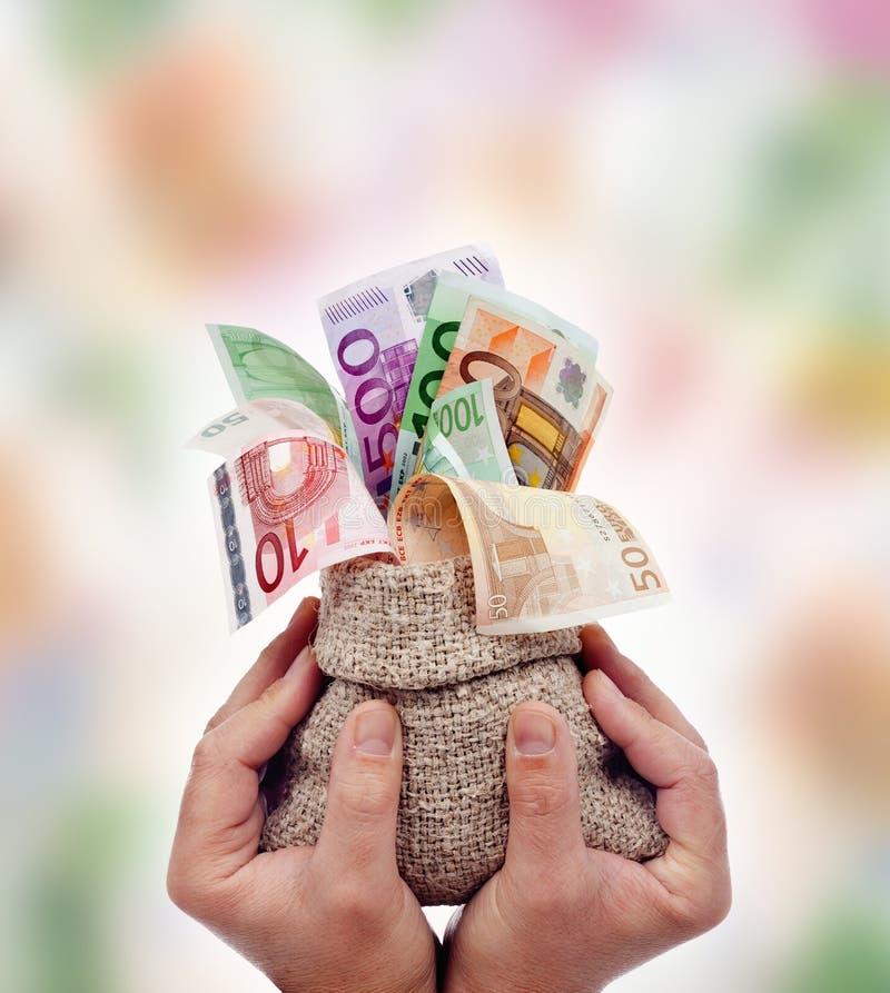 Chwalić pieniądze obraz royalty free