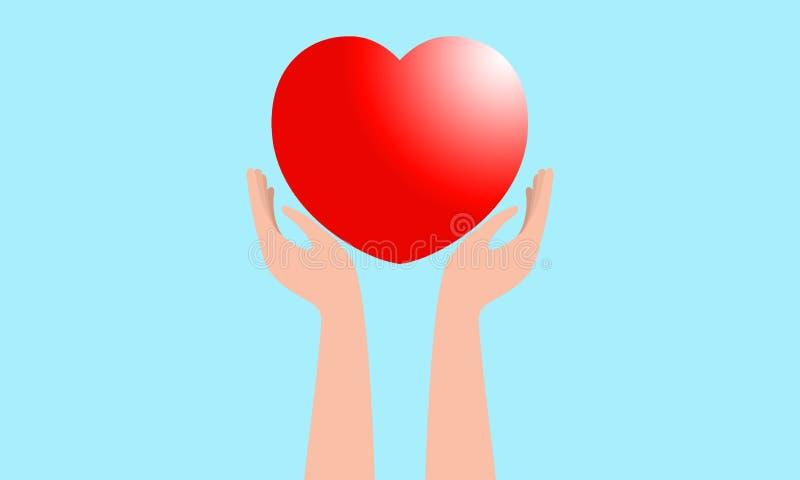 Chwyt miłości ikona zdjęcie stock