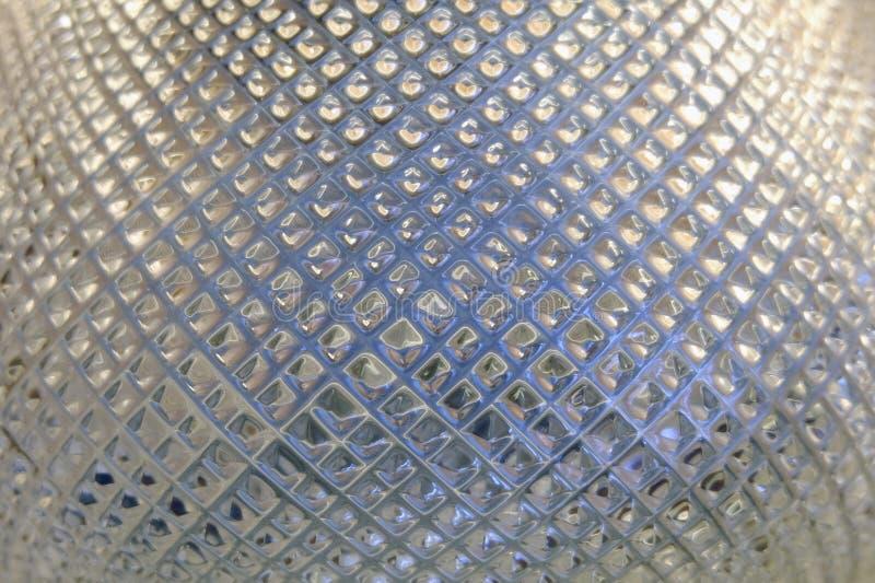 Ciérrese encima de Crystal Glass Texture Background hermoso fotos de archivo libres de regalías