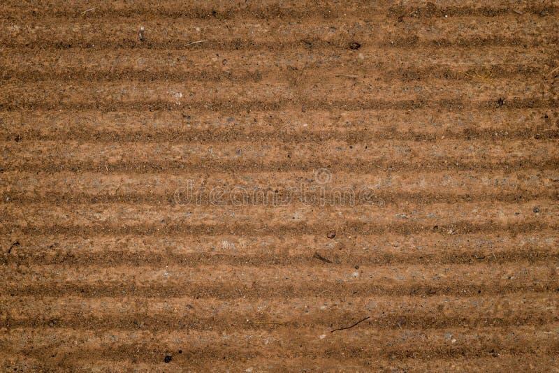 Ciérrese encima de fondo concreto de la textura del surco fotografía de archivo