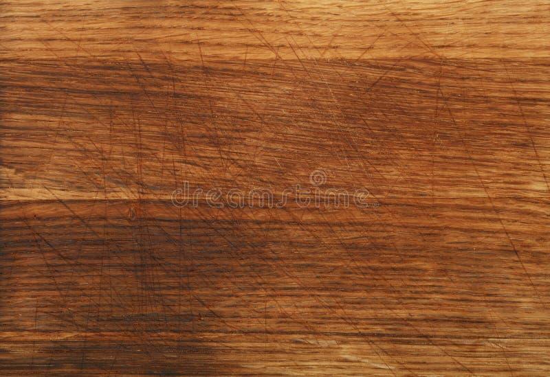Ciérrese encima de fondo oscuro de la textura del tablero de madera de roble foto de archivo