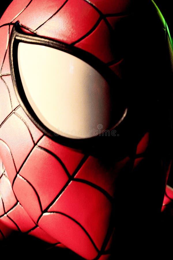 Ciérrese encima de hombre araña fotos de archivo