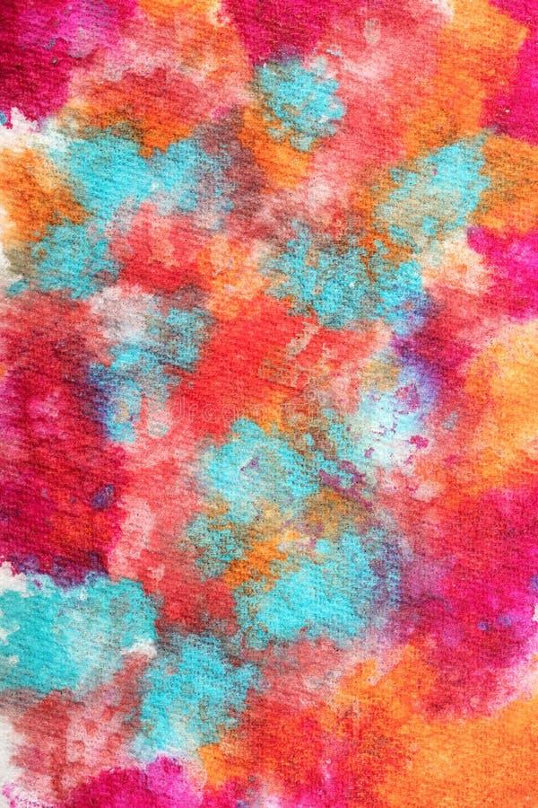 Ciérrese encima de la abstracción en pintura imagen de archivo libre de regalías