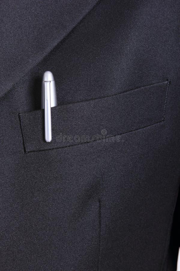 Ciérrese encima de la corbata del hombre de negocios imagen de archivo libre de regalías