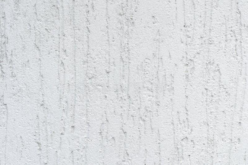 Ciérrese encima de la foto de la textura y del fondo blancos del estuco del rought fotografía de archivo libre de regalías