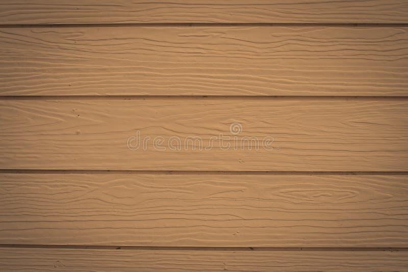 Ciérrese encima de la textura de madera del fondo de la pared del marrón del vintage de la casa fotos de archivo