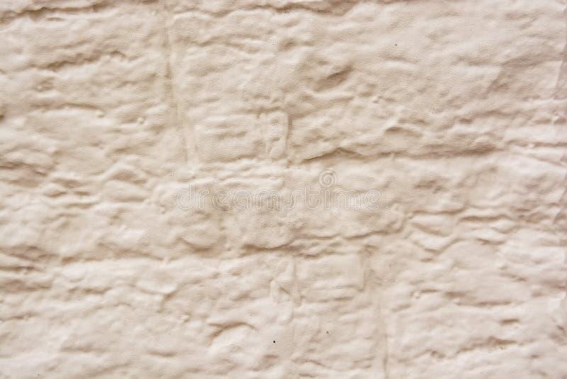 Ciérrese encima de viejo fondo beige de la textura del yeso imágenes de archivo libres de regalías