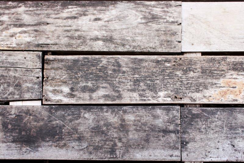 Ciérrese encima del piso superficial hecho de la hoja de madera imagen de archivo libre de regalías