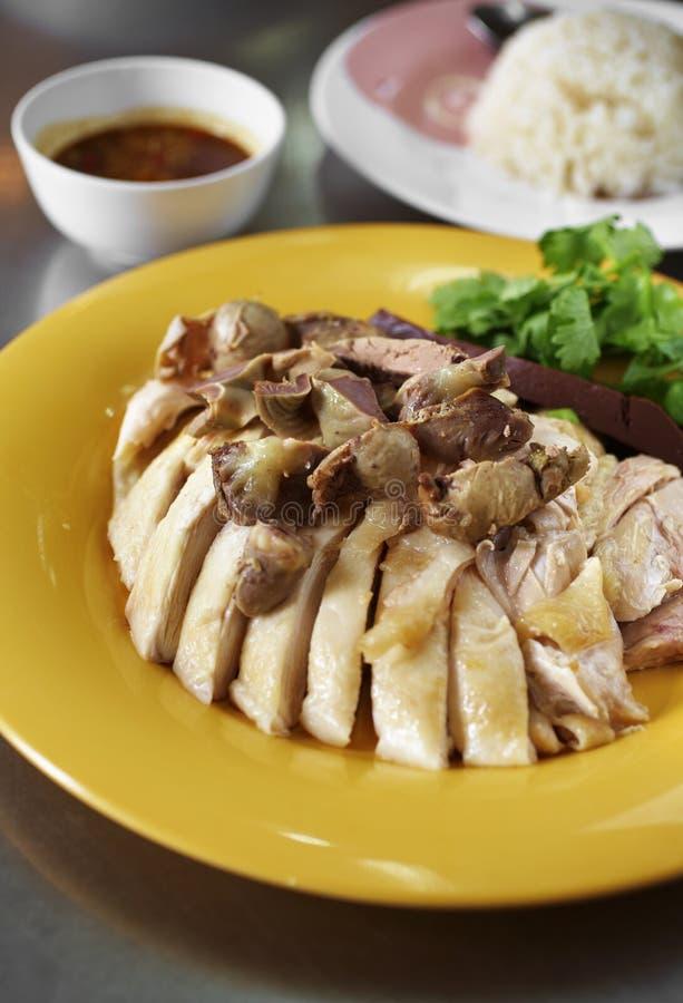 Download Ciérrese Encima Del Pollo Chino Cocido Al Vapor Imagen de archivo - Imagen de cocina, gastrónomo: 42439965