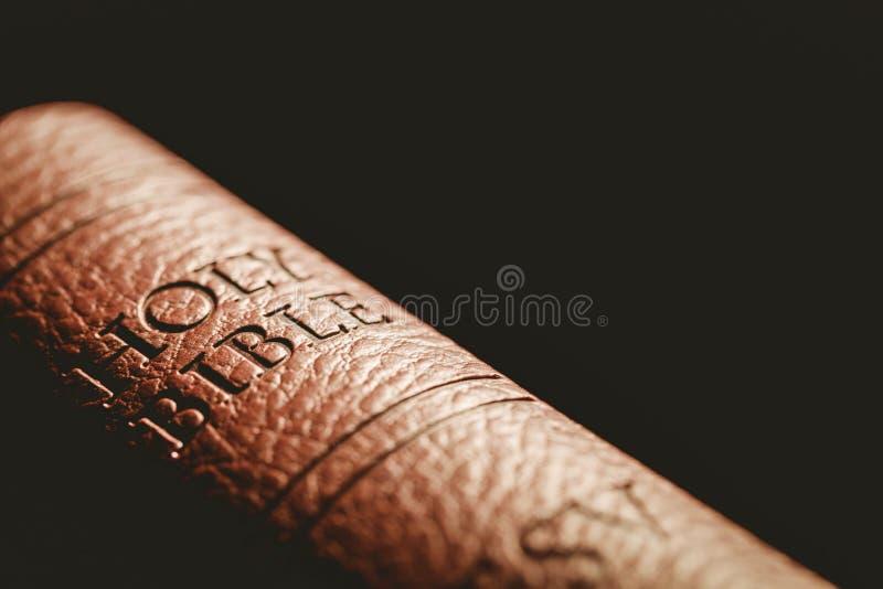 Ciérrese para arriba de la biblia fotos de archivo libres de regalías