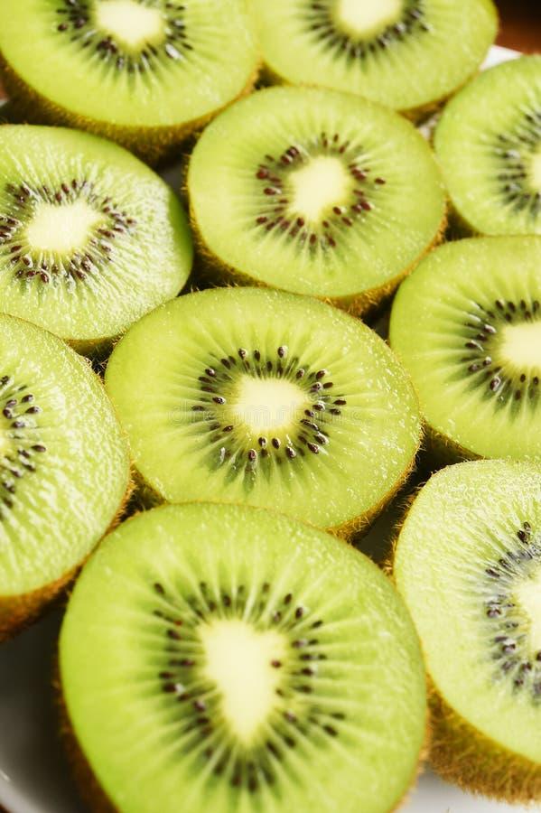 Ciérrese para arriba de la fruta de kiwi fresca fotos de archivo libres de regalías