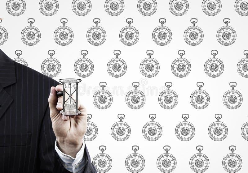 Ciérrese para arriba de la mano masculina foto de archivo libre de regalías