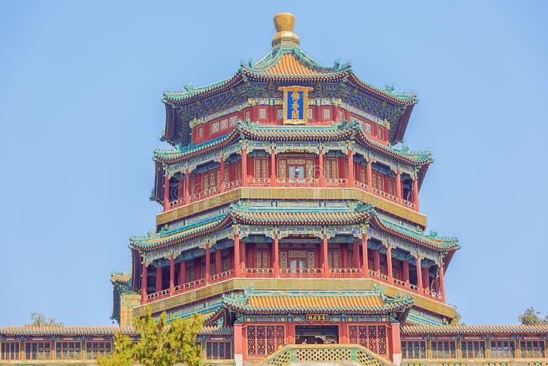 Ciérrese para arriba de la torre del incienso budista fotografía de archivo libre de regalías