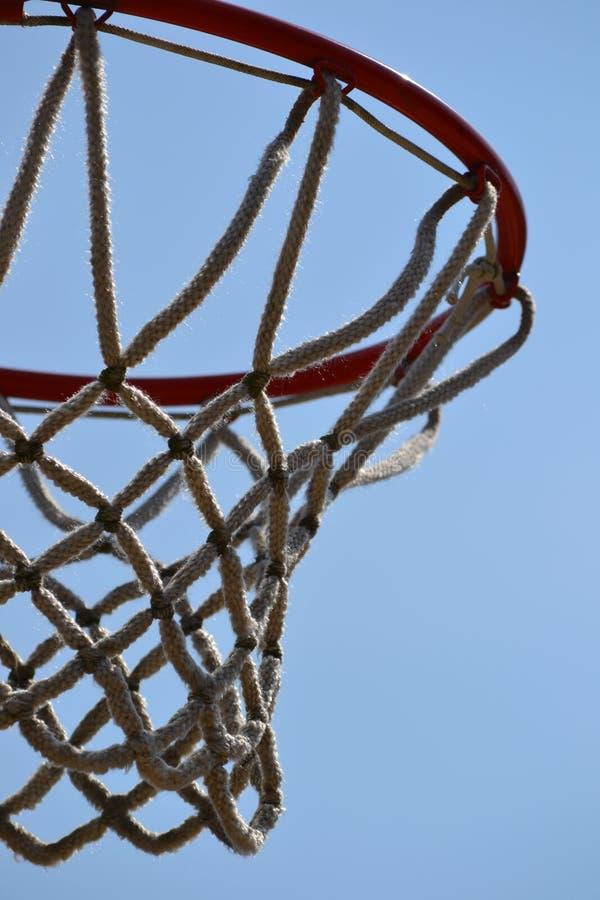 Meta del baloncesto fotografía de archivo libre de regalías