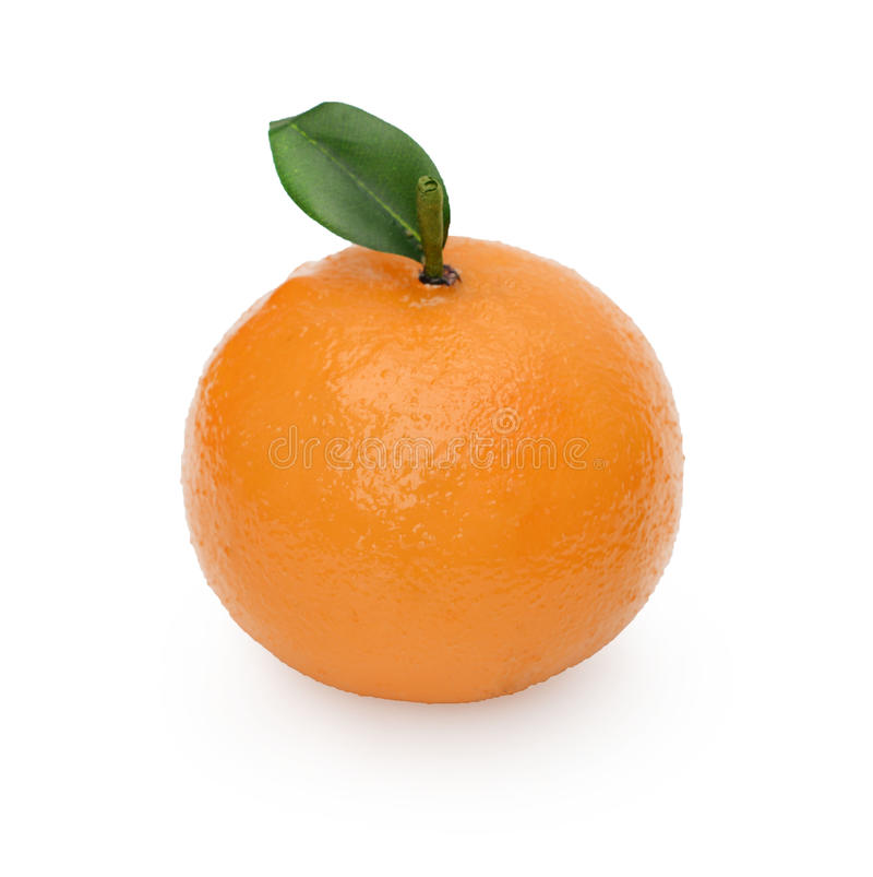 Ciérrese para arriba de naranja artificial fotos de archivo libres de regalías