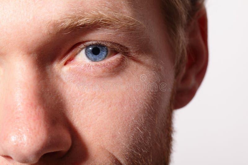 Ciérrese para arriba de ojos fotografía de archivo libre de regalías