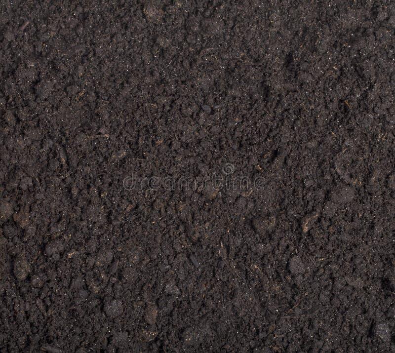 Ciérrese para arriba de suelo negro imagen de archivo libre de regalías
