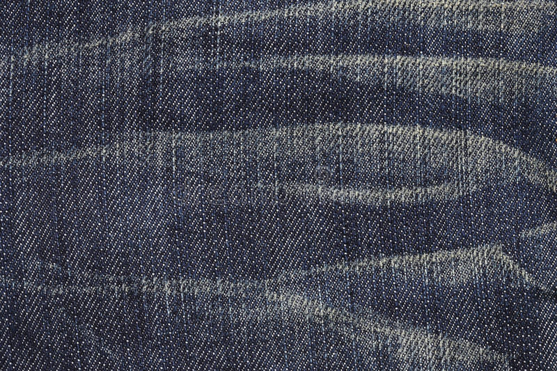Ciérrese para arriba de textura azul de la mezclilla imagenes de archivo