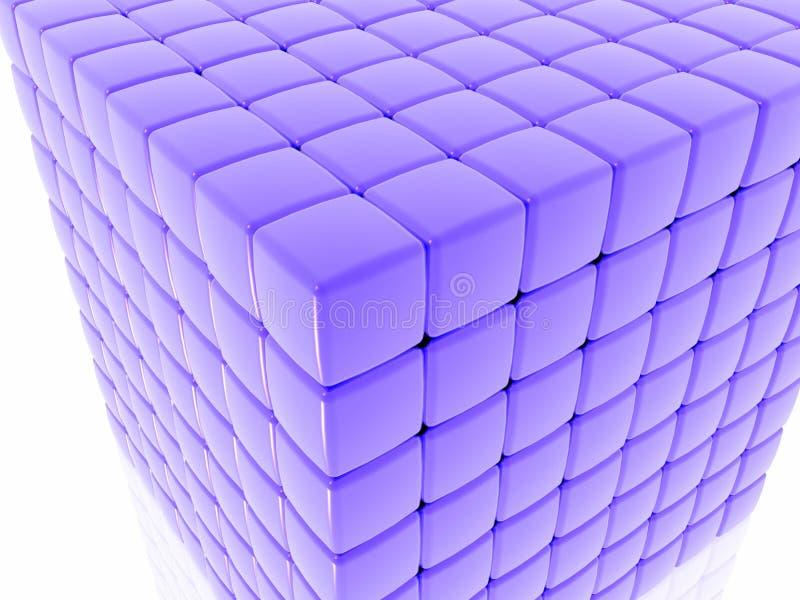 Ciérrese para arriba de un cubo imágenes de archivo libres de regalías