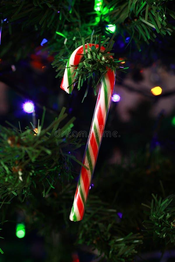 Ciérrese para arriba de una decoración de la Navidad, imagen de archivo