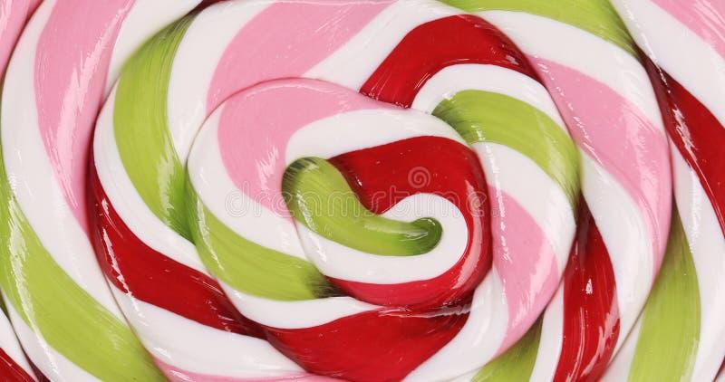 Ciérrese para arriba del caramelo del estallido del loli. imagen de archivo