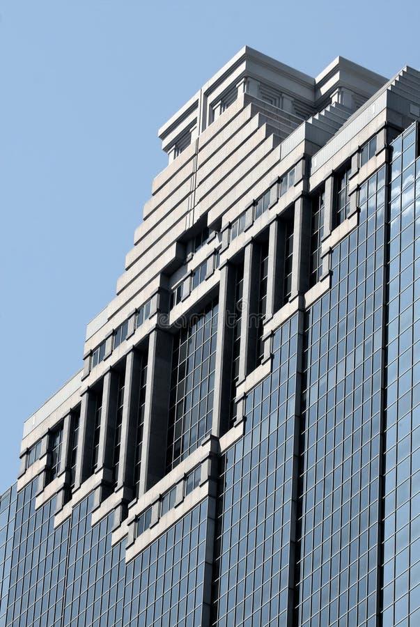 Ciérrese para arriba del edificio de Houston imagen de archivo libre de regalías