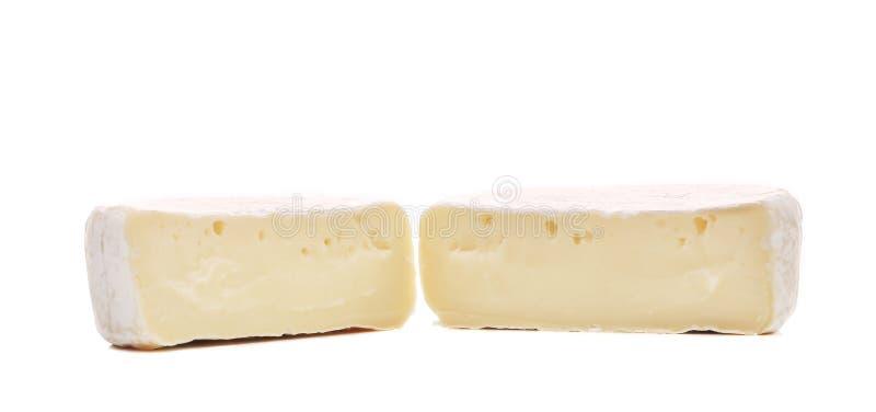 Ciérrese para arriba del queso del brie imagen de archivo