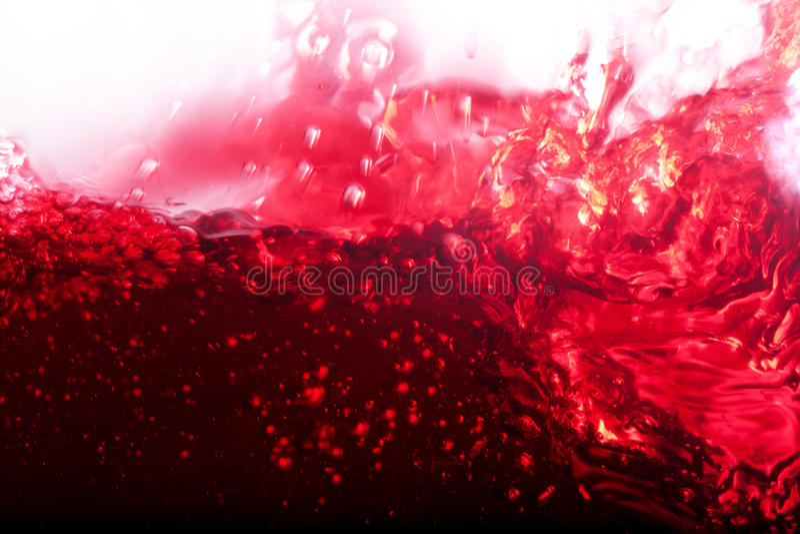 Ciérrese para arriba del vino fotografía de archivo