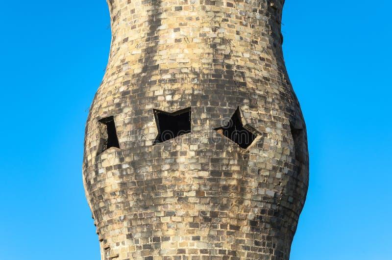 Ciérrese para arriba en el monumento de indígenas imagen de archivo