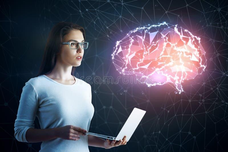 Ciência e conceito de uma comunicação foto de stock royalty free