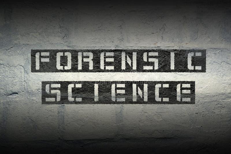 Ciência forense GR fotos de stock royalty free