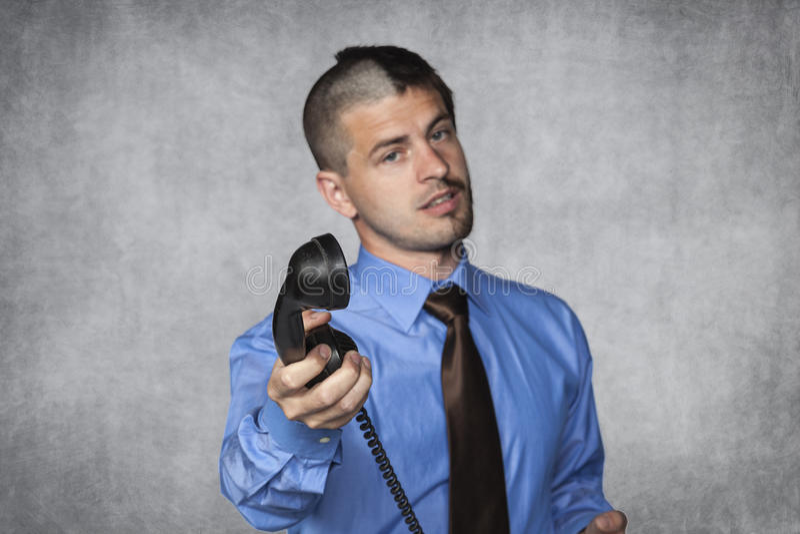 Ciò è il telefono per voi fotografia stock libera da diritti