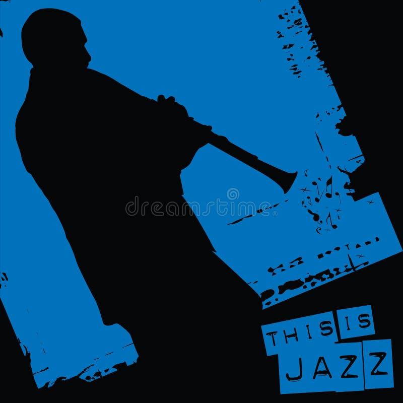 Ciò è jazz illustrazione vettoriale