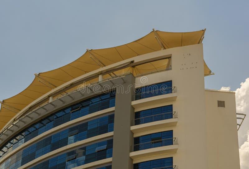 Ciò è la parte superiore dell'hotel grande di Ubumwe fotografia stock