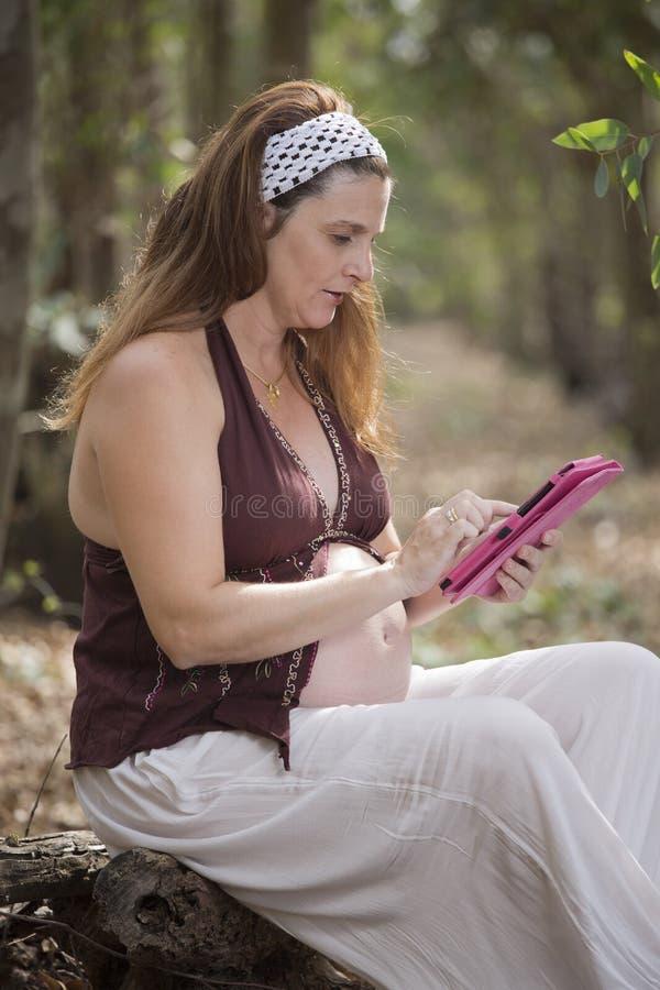 Ciążowa pastylka obrazy royalty free
