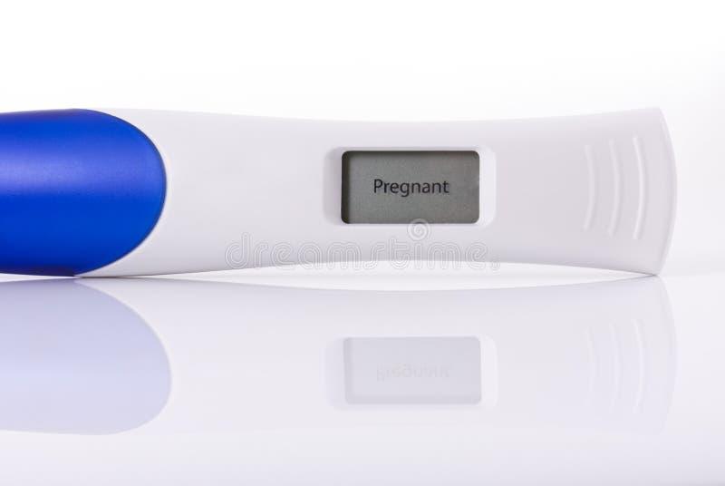 ciążowy test zdjęcie royalty free