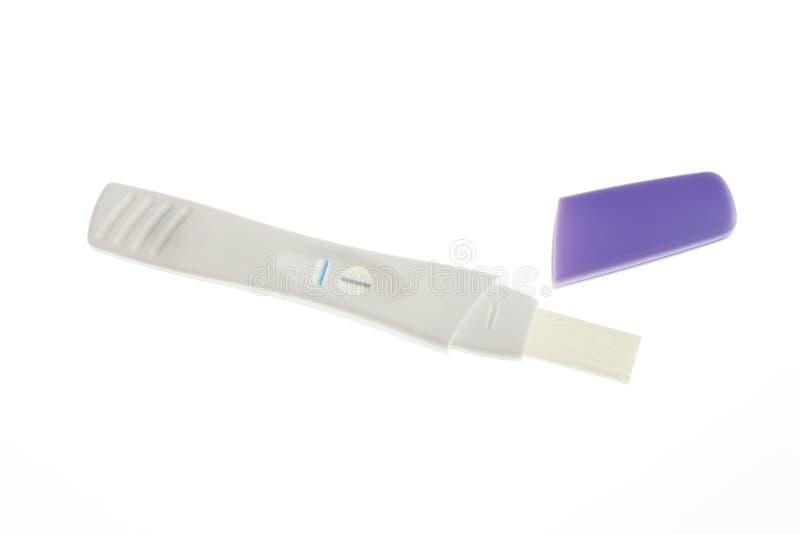 ciążowy zestawu test zdjęcia royalty free
