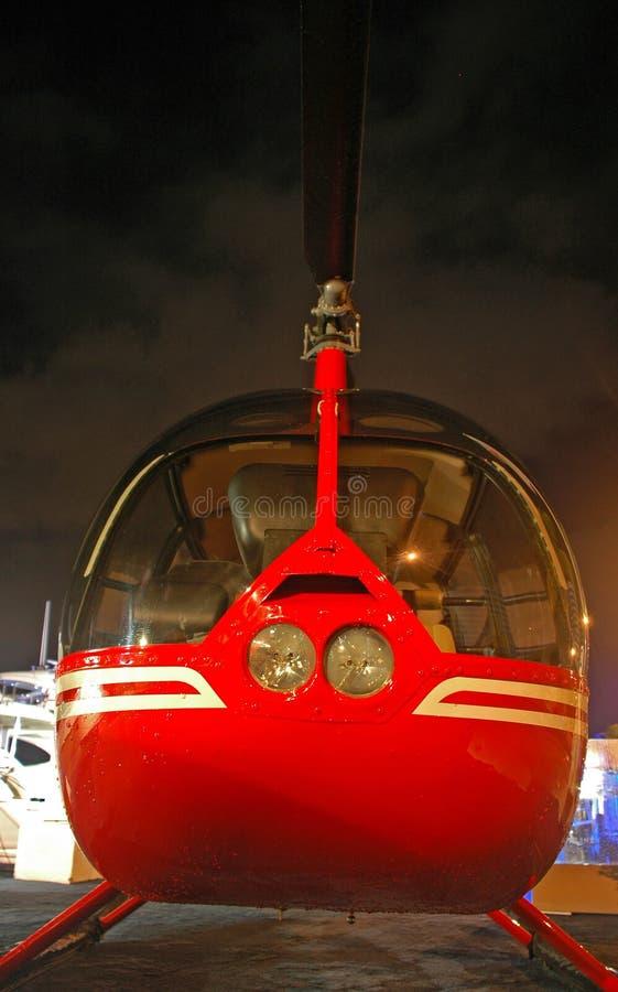 ciągle prywatny helikopter marina obrazy royalty free