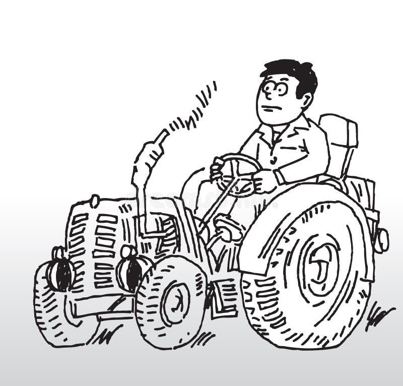 ciągnika ilustracja wektor