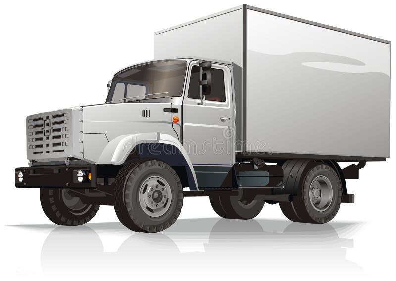 ciężarówka ładunku royalty ilustracja