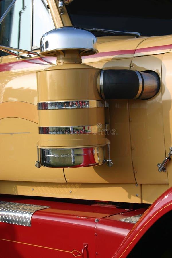 ciężarówka czystsze powietrze obrazy stock