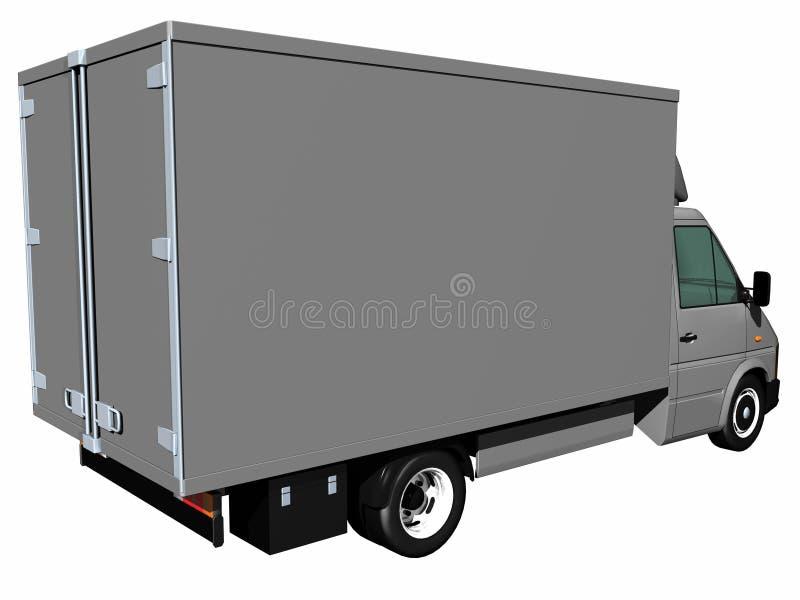 ciężarówka dostawy royalty ilustracja
