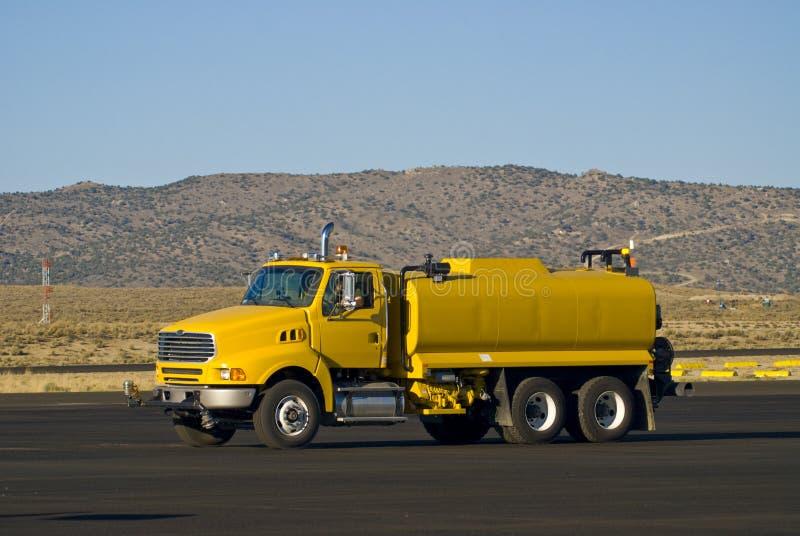 ciężarówka paliwa zdjęcie royalty free