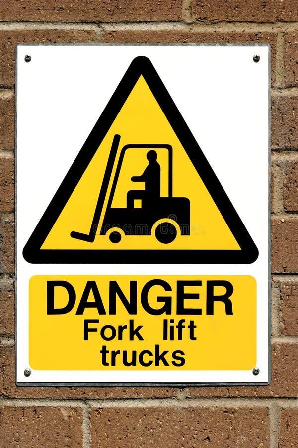 ciężarówka podnośnik znaku zdjęcie royalty free